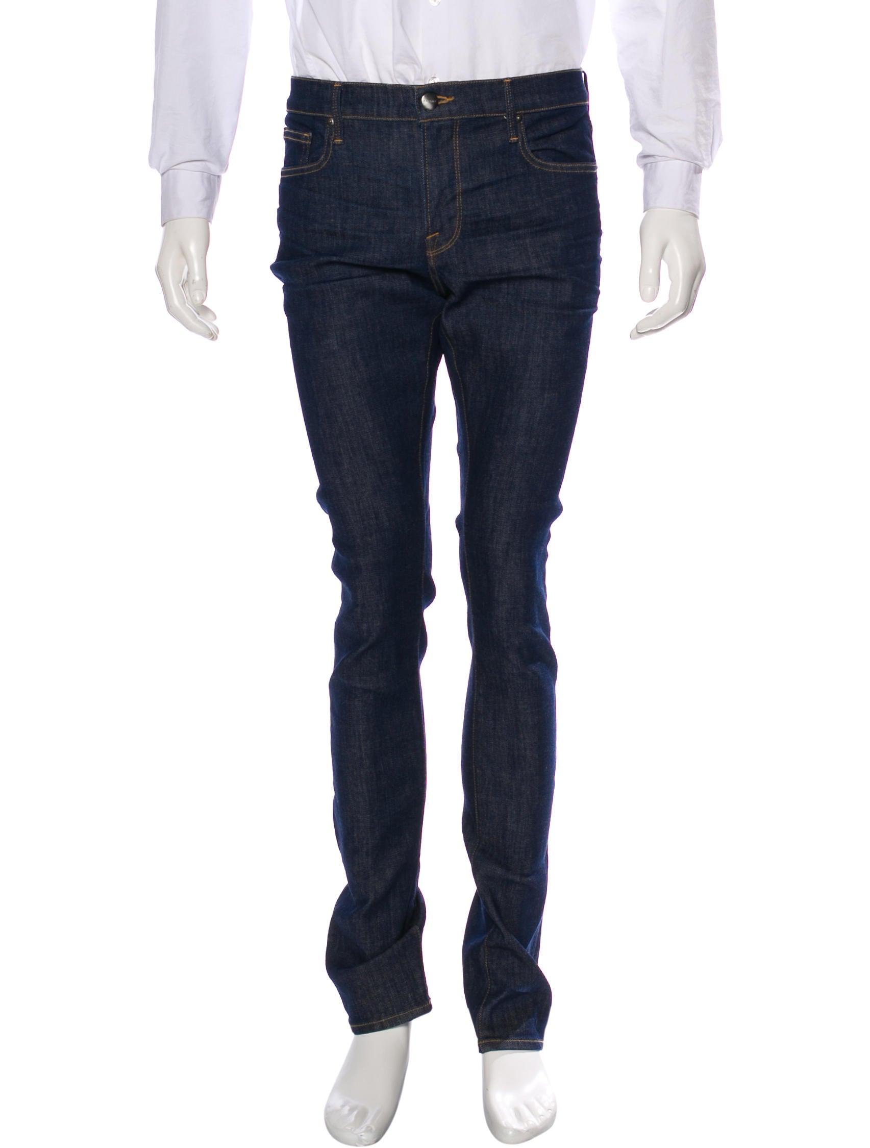 frame denim l 39 homme skinny jeans clothing wfd28016 the realreal. Black Bedroom Furniture Sets. Home Design Ideas