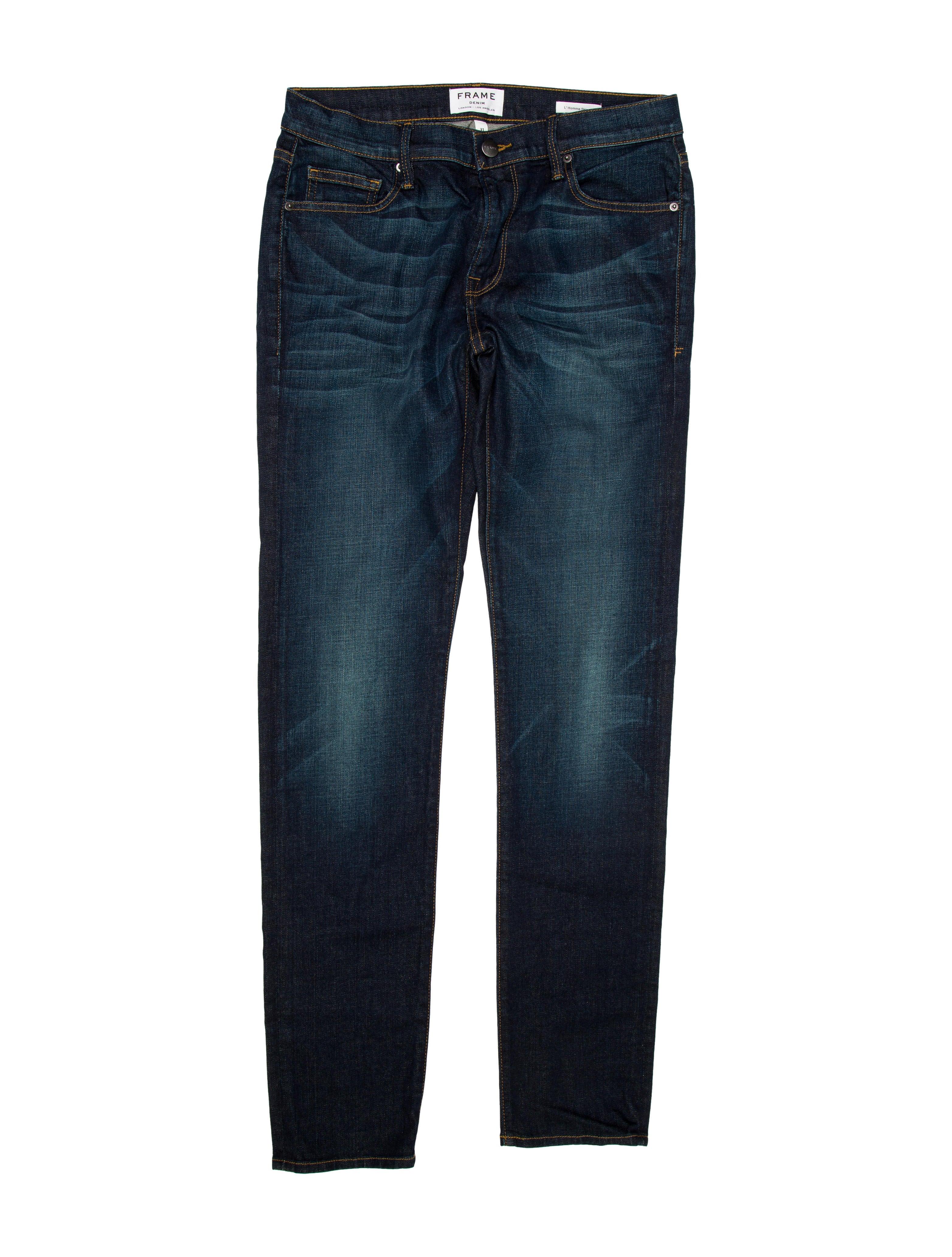 frame denim l 39 homme skinny jeans clothing wfd28247 the realreal. Black Bedroom Furniture Sets. Home Design Ideas