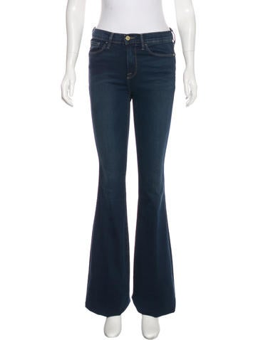 Frame Denim Forever Karlie Mid-Rise Jeans - Clothing - WFD29482 ...
