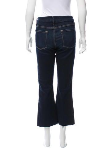 Frame Denim Mid-Rise Wide-Leg Jeans