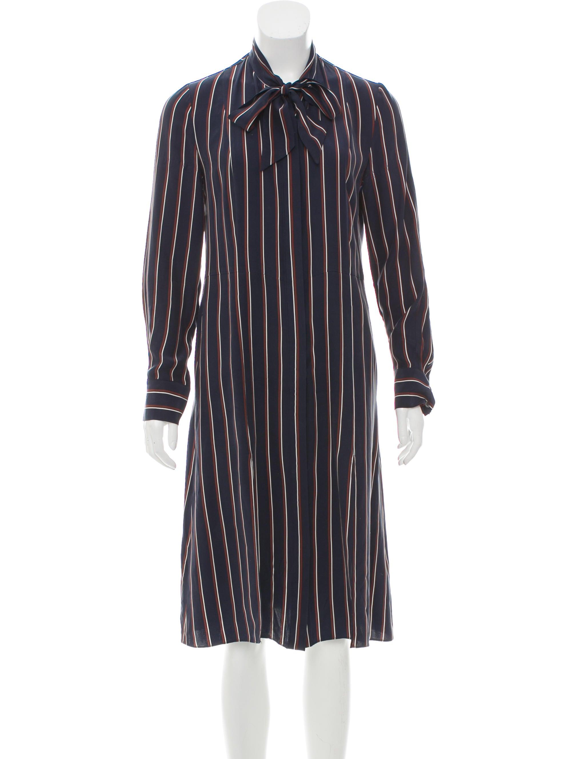 a613b096f9941 Frame Denim Long Sleeve Silk Dress - Clothing - WFD30804