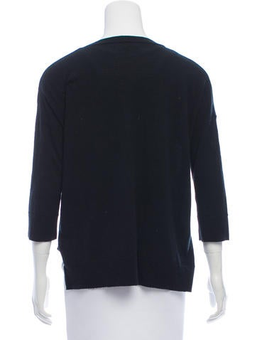 Frame Denim Long Sleeve Knit Sweater
