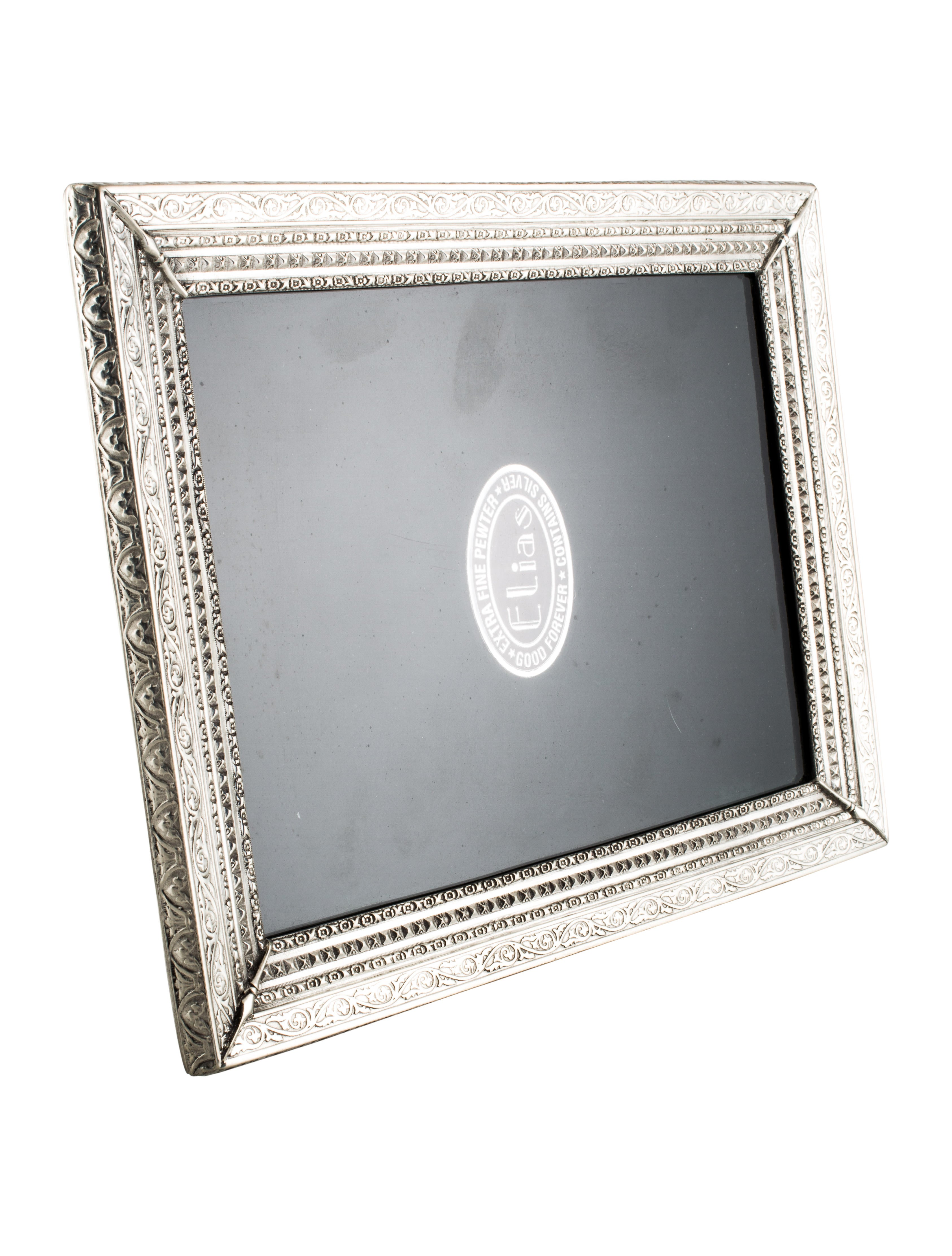 9dbcf741b8a Pair Of Elias Pewter Picture Frames Decor And Accessories