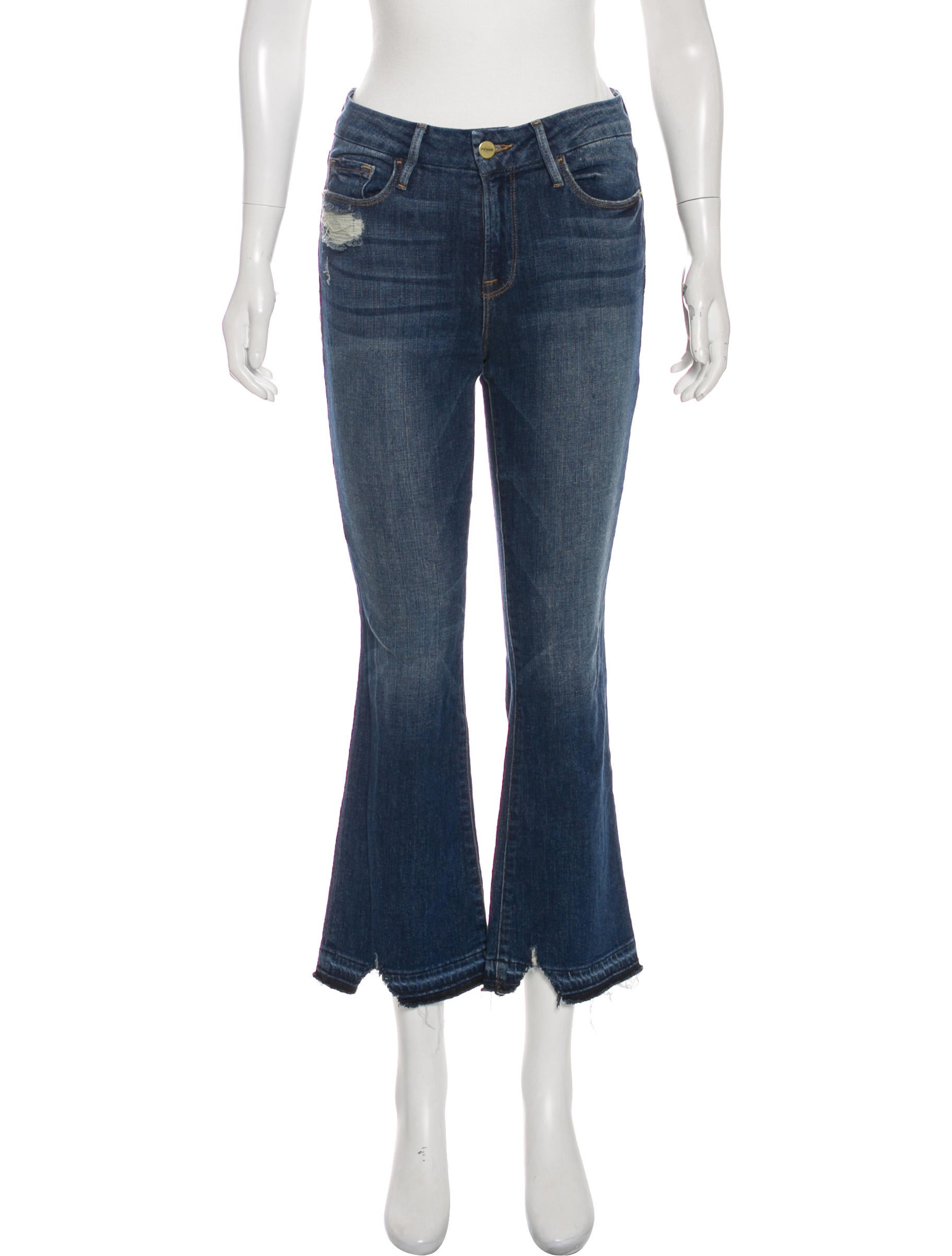 9b5982af41802 FRAME Le Crop Mini Boot Mid-Rise Jeans - Clothing - WFD35649
