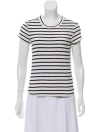 Striped Crew Neck T-Shirt w/ Tags image 1