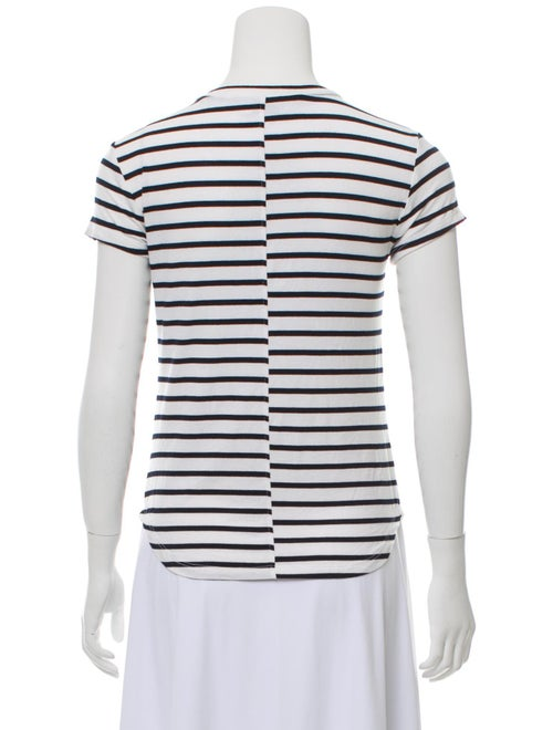 Striped Crew Neck T-Shirt w/ Tags