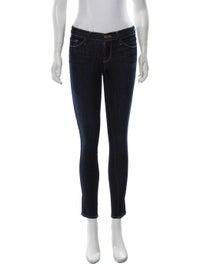 Mid Rise Skinny Leg Jeans image 1