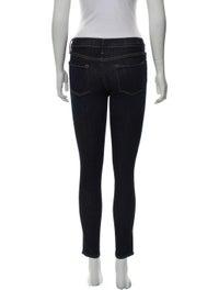 Mid Rise Skinny Leg Jeans image 3