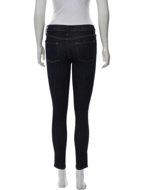 Mid Rise Skinny Leg Jeans