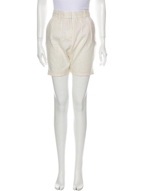 Frame Linen Mini Shorts