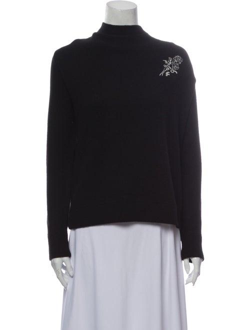 Frame Turtleneck Sweater Black