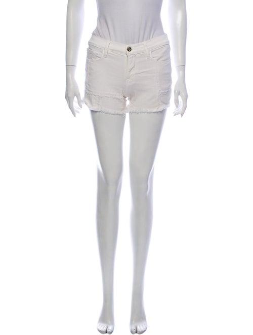 Frame Mini Shorts White
