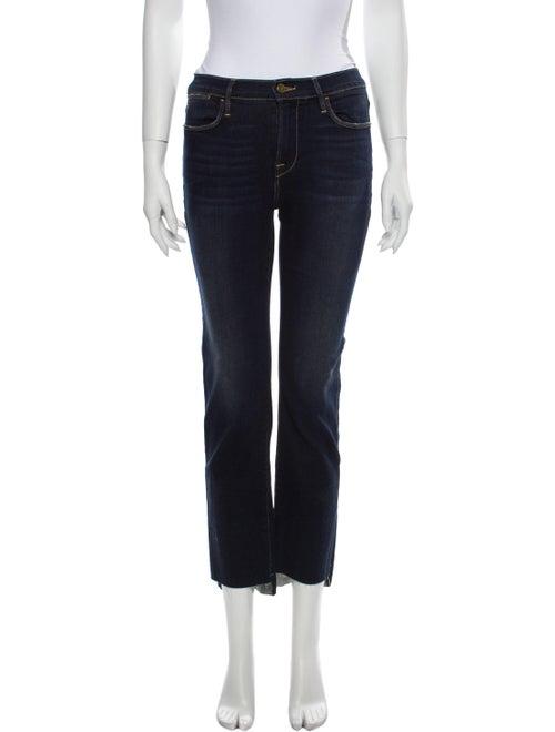 Frame Le High Straight Straight Leg Jeans Blue