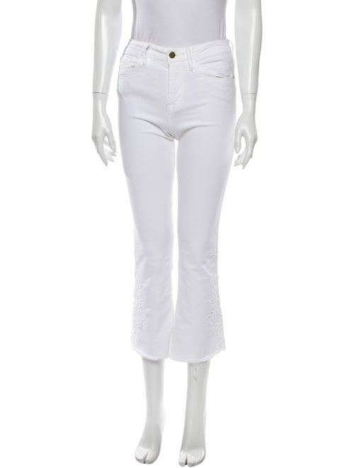 Frame Flared Pants White