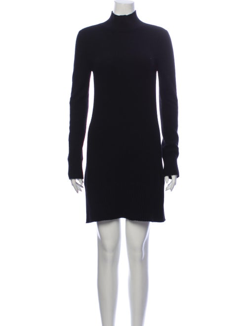 Frame Cashmere Mini Dress Black