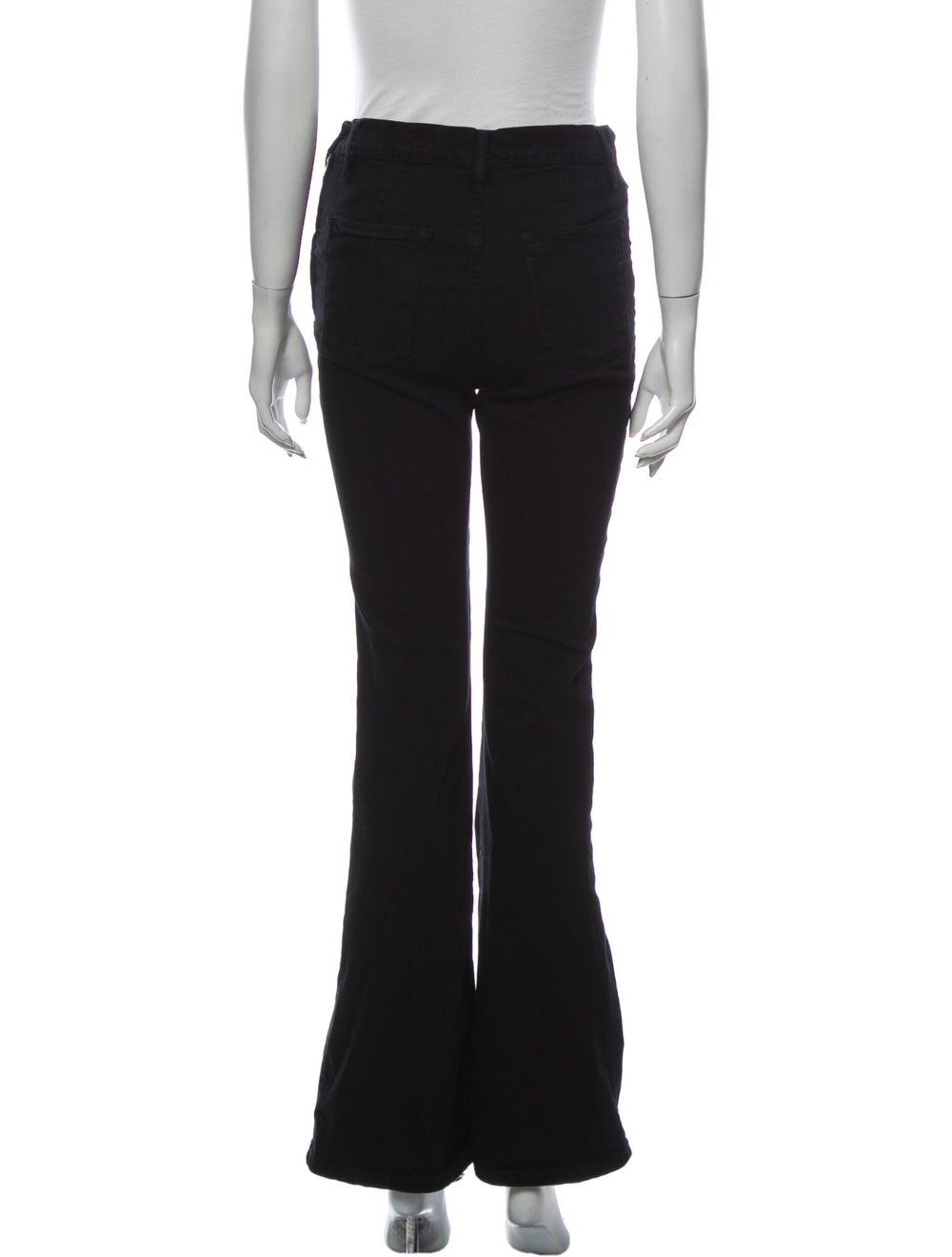 Frame High-Rise Flared Jeans Black - image 3