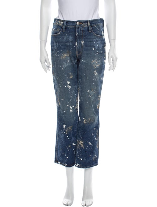 Frame High-Rise Flared Jeans Blue - image 1