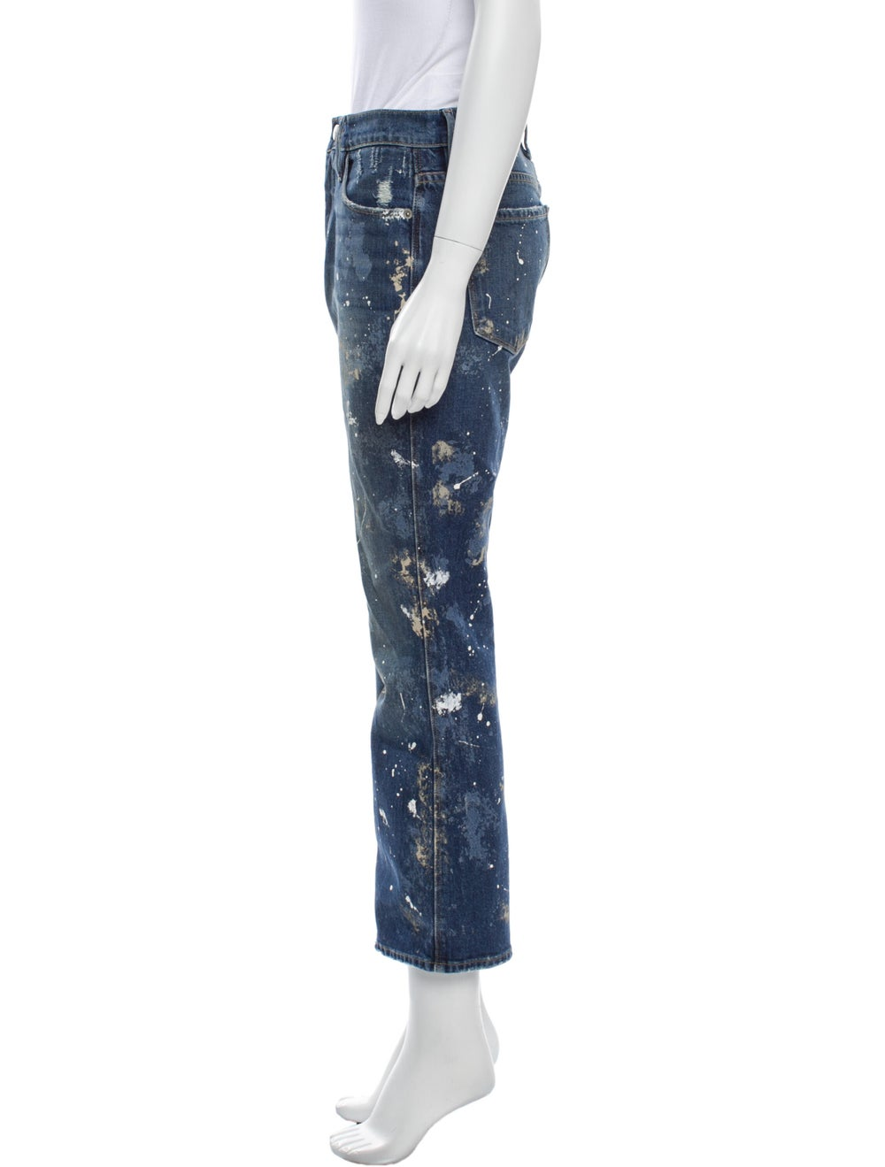 Frame High-Rise Flared Jeans Blue - image 2