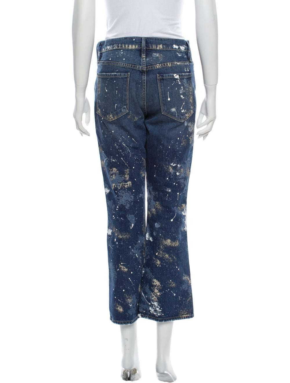 Frame High-Rise Flared Jeans Blue - image 3