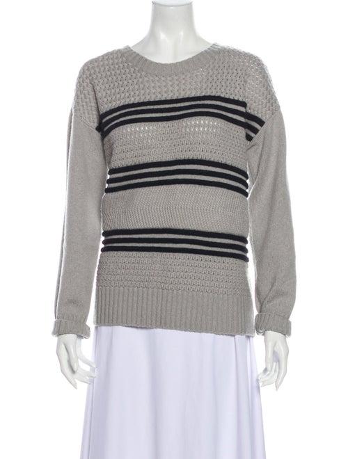 Frame Wool Striped Sweater Wool