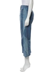 FRAME Oxford Wide Leg Jeans