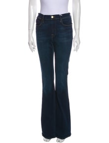 FRAME High-Rise Wide Leg Jeans w/ Tags