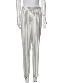 FRAME Striped Straight Leg Pants