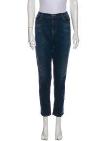 FRAME Le Garçon Straight Leg Jeans