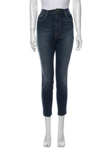 FRAME Ali High Rise Cigerette Skinny Leg Jeans
