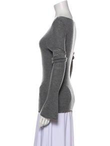 FRAME Merino Wool Bateau Neckline Sweater