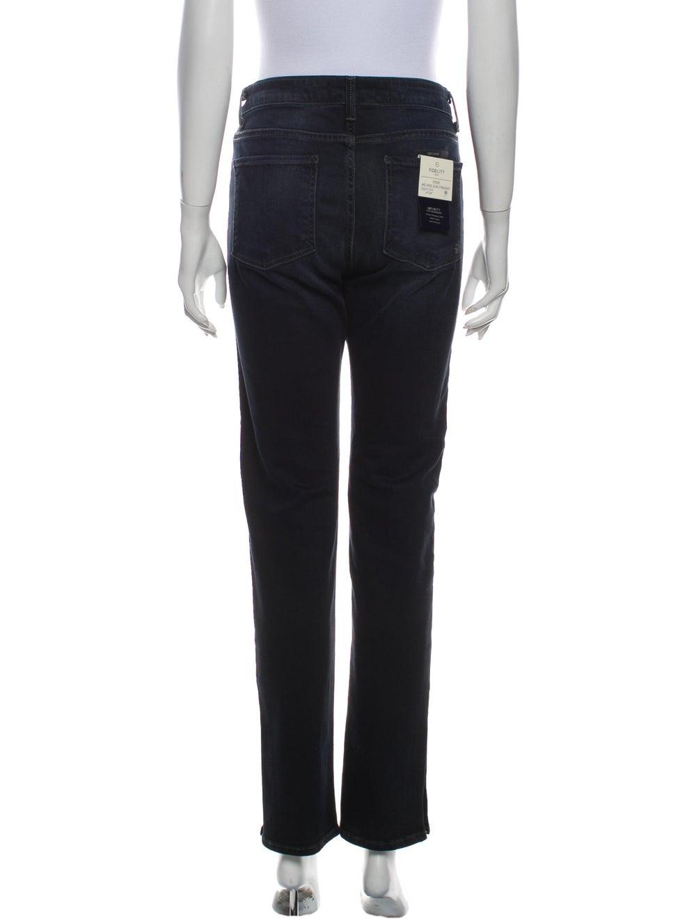 Fidelity Denim Mid-Rise Straight Leg Jeans w/ Tag… - image 3