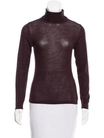 Ferre' Wool Turtleneck Top None
