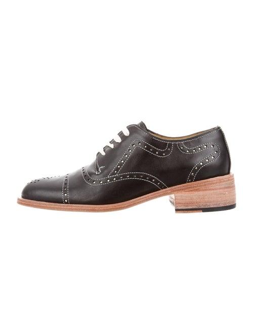Florsheim x Esquivel Leather Oxfords Black
