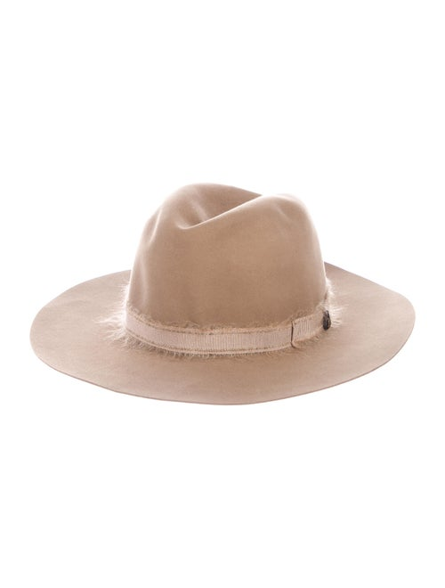 Filù Hats Felt Fedora Hat Tan