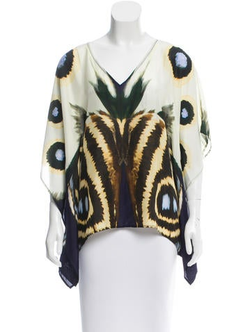 Figue Silk Printed Blouse
