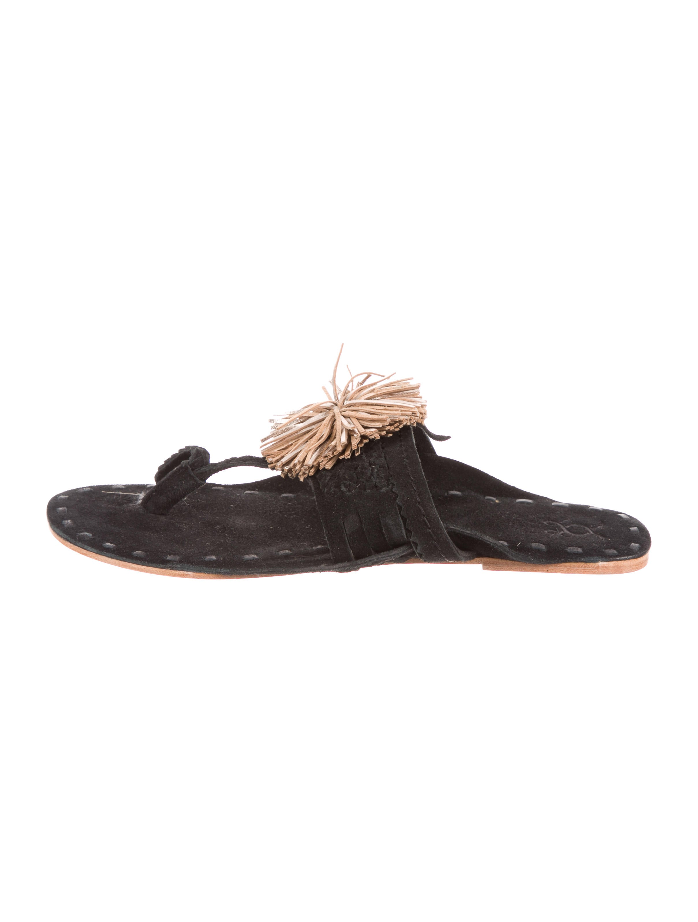Figue Suede Thong Sandals w/ Tags 2014 for sale cheap sale best store to get 5eg7cE