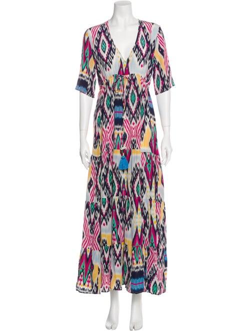 Figue Silk Long Dress