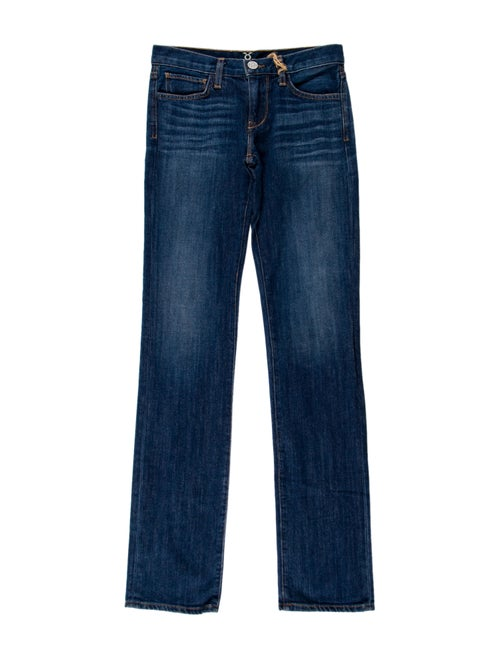 Figue Low-Rise Straight Leg Jeans w/ Tags Blue