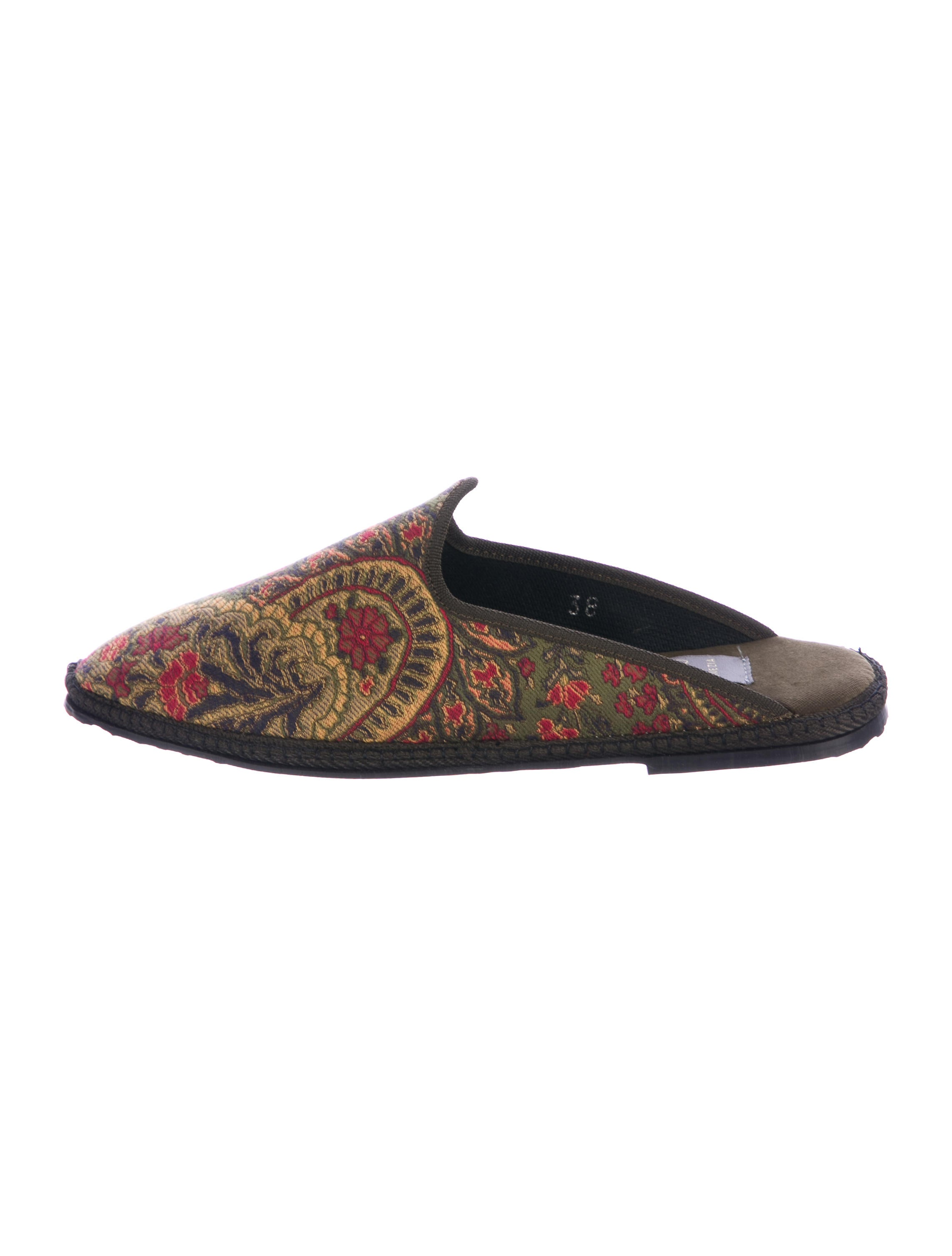 discount codes really cheap Fifi Venezia Jacquard Pointed-Toe Mules w/ Tags original cheap price recommend IwNOmwf