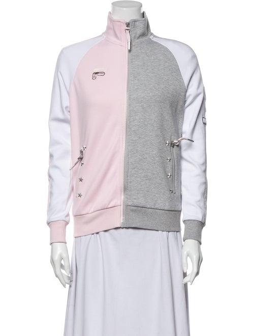 Fila Mock Neck Sweater Grey