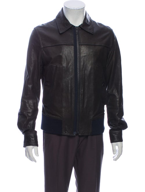 Filippa K Leather Jacket Black