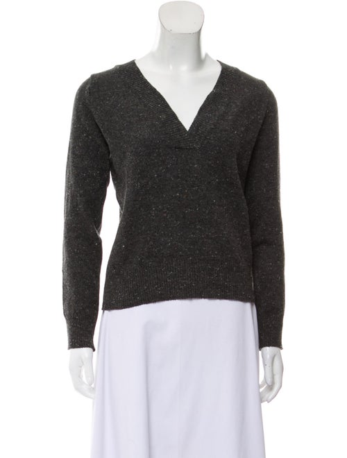 Final Home V-Neck Sweater Grey