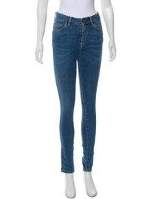 89350180956 Yves Cigarette Vinyl Jeans. Size  XS.  145.00. Now 20% off -  116.00 ·  Fiorucci
