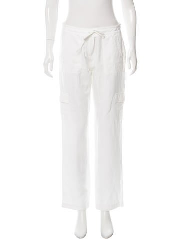 Eileen Fisher Mid-Rise Cargo Pants None