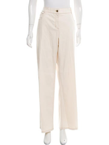 Eileen Fisher High-Rise Pants None