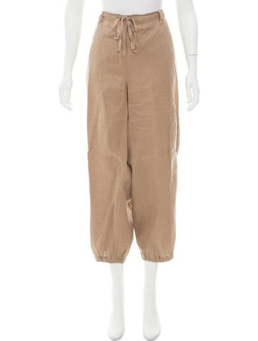 Eileen Fisher High-Rise Wide Leg Pants None