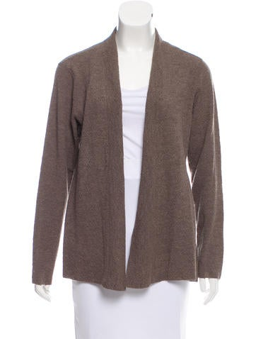 Eileen Fisher Wool Crepe Cardigan w/ Tags None