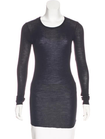 Forte Forte Wool Long Sleeve Top None