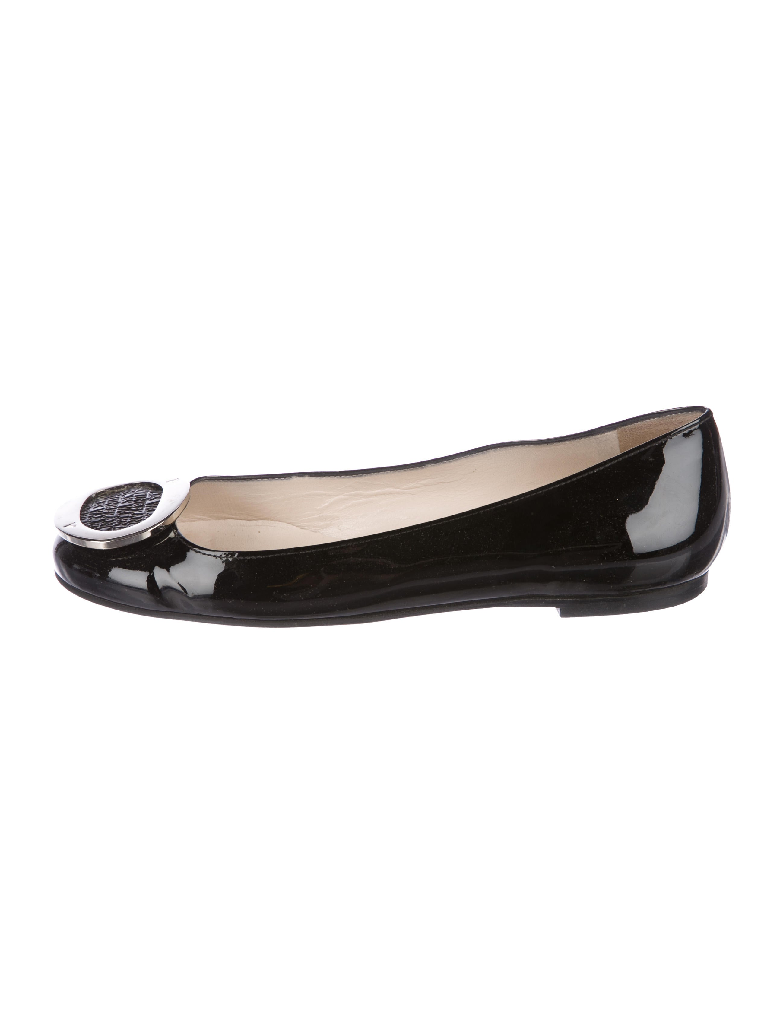 0f630394374ad6 Frances Valentine Patent Leather Buckle Flats - Shoes - WFRAV20088 ...