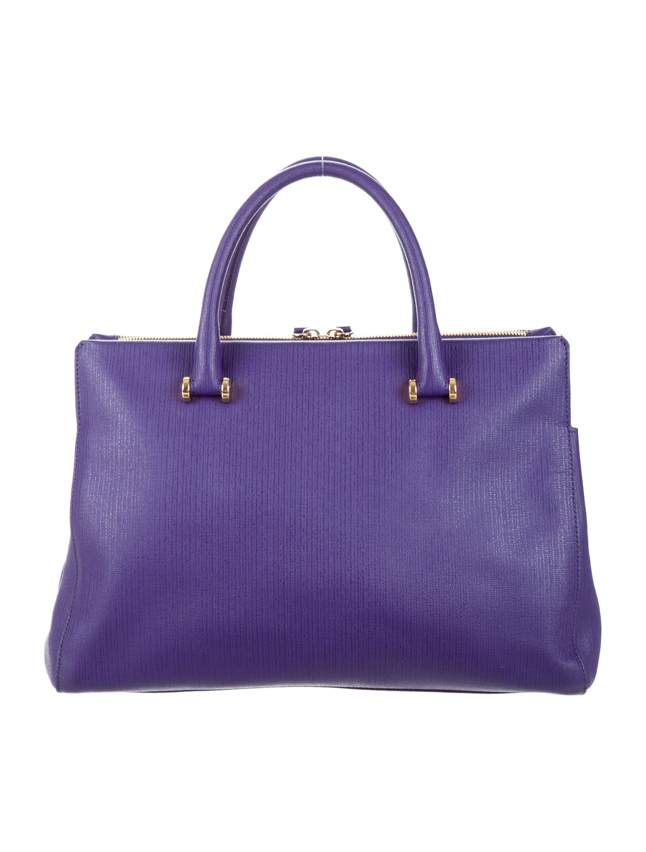 Furla Leather Dome Satchel - Handbags - WFU20261 : The RealReal